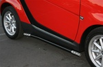 Smart Car Side Rails - by Aries Offroad