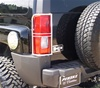 Hummer H3 Stainless Steel Tail Light Guard by Aries Offroad