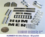 H2/SUT Billet Chrome Ultra Deluxe 58 pcs Package by APsis