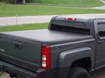 Hummer H3T HardHat Hard Folding Tonneau Cover by Advantage Truck Accessories