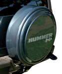 Hummer H3 - MasterSeries Hard Tire Cover - Fully Painted