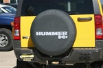 Hummer H3 Vinyl Tire Cover by Boomerang