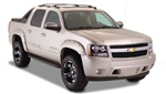 07-08 Chevy Avalanche Pocket Style Fender Flares by Bushwacker