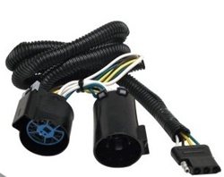 Hummer H3 T-Connector Towing Harness by  Curt