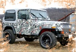 Jeep Wrangler Camo Kit (120 sq. ft. - 6 Sheet Kit)