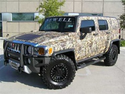 HUMMER H3 /Truck/SUV Camo Kit (180 sq. ft. - 9 Sheet Kit)