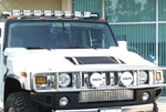HUMMER H2 10X LIGHT BAR WITH (8) XENON LIGHTS by Delta