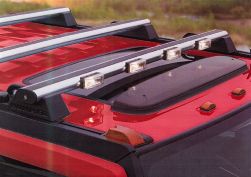 Hummer h2 xenon h rack light bar by delta mozeypictures Images