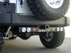 '97-'11 Jeep Wrangler Rear Ground Bar 3-Functions DEL-01-9585-6LL