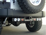 '97-'11 Jeep Wrangler Rear Ground Bar 3-Functions DEL-01-9585-6LX