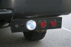 Twin-Bar Rear Bar 3-Functions By Delta- LED Stop/Turn / Xenon Backup DEL-01-9586-6LX