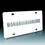 HUMMER Vanity License Plate by DWD