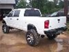 03-08 Dodge Heavy Duty Rear Bumper by Fab Fours