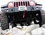 JK Wrangler Replacement Winch Ready Bumper Fab Fours