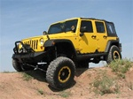 07-08 Jeep JK 4-Door Wrangler Unlimited Rock Sliders By Fab Fours