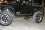 07-08 Jeep JK 2-Door Wrangler Unlimited Rock Sliders By Fab Fours