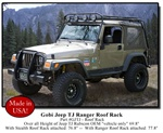 Jeep Wrangler TJ Ranger Safari Roof Rack by Gobi