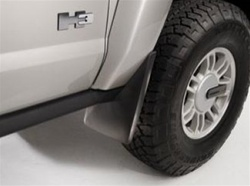 Hummer H3 Molded Splash Guards by GM