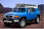 FJ Gobi Ranger Roof Rack W/out Tire Carrier