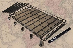 Hummer H1 Roof Rack W/O Tire Carrier By Gobi
