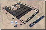 H2 Gobi Full Size Roof Rack with Tire Carrier By Gobi