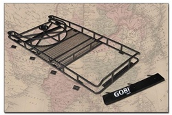 H3 Full Size Roof Rack With Tire Carrier, With Sunroof opening by Gobi