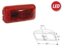 Hummer H1 LED Clearance Light Replacement Set - 6 Light Set