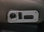 Hummer H2 Chrome Seat Controls Bezel By Hi-Tech
