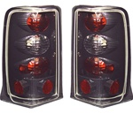 02-06 Escalade Euro Tail Lamps Carbon Fiber by IPCW