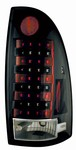 05-Up Tacoma L.E.D. Tail Lamps Bermuda Black by IPCW