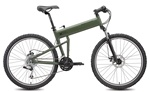 Folding Paratrooper® Cammy Green Mountain Bike by Montague