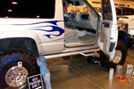 N-Fab's Wheel-to-Wheel Nerf Steps for '92-'99 Chevy/GMC Blazer/Tahoe 2-Step