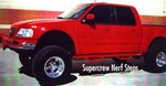 N-Fab's Wheel-to-Wheel Nerf Steps for '01-'03 Ford Super Crew 4 Door Short Bed
