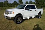 N-Fab's Wheel-to-Wheel Nerf Steps for '06-'08 Ford F150 Super Crew Long Bed