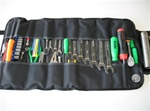 Roll Up Wrench Bag with Rubber Handle