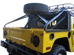 Slant Back Tire Carrier- Soft Top