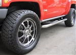 Side Step Running Boards Polished Stainless Steel PM-H3-EXT-515