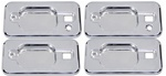 H2/SUT Chrome Billet Door Handle Buckets by Pirate Manufacturing