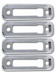 H2/SUT Chrome Billet Marker Light Bezels by Pirate Manufacturing