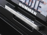H2 Chrome Billet Rear Hatch Handle by Pirate Manufacturing