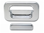 H2 SUT Chrome Billet Rear Tail Gate Bucket and Handle by Pro 1