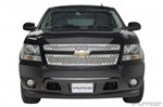 02-06 Chevy Avalanche Punch Stainless Steel Grille by Putco