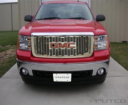 2007 Toyota Tundra Chrome Liquid 3D Grille by Putco
