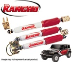 2007 and up Jeep JK Wrangler Complete Steering Stabilizer Kit by Rancho