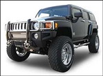 Hummer H3/H3T Suspension Lift by Rancho - W/ 4 RS9000XL Adjustable Shocks