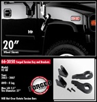 "Hummer H2 2.5"" Front Leveling Kit by ReadyLift"