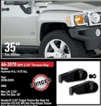 "Hummer H3/H3T 2.25"" Leveling Kit by ReadyLift"