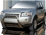 2007-2009 Land Rover LR2 Max Bars Side Steps by Romik