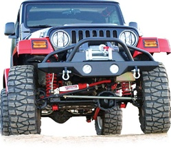 Rampage Products Front Recovery Bumper 87-06 Jeep