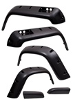 Jeep® Wrangler YJ 1987-1995, 6pc. All Terrain Fender Flares Kit by Rugged Ridge